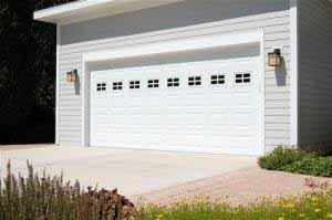 outdoor garage door