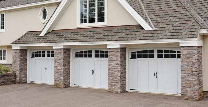 Dallas Area Carriage House Garage Doors from Overhead Garage Door LLC