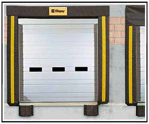 ribbed steel pan & pan-insulated garage doors