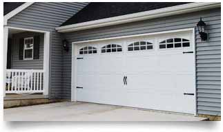 Dallas Carriage House Garage Doors from Overhead Garage Door LLC