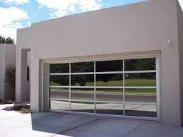 Commercial Aluminum Full View Garage Doors