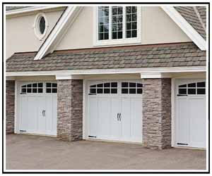Carriage House Garage Door Overlay
