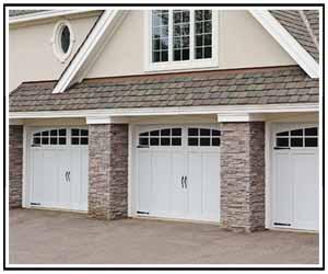 Carriage House Garage Door Overlay
