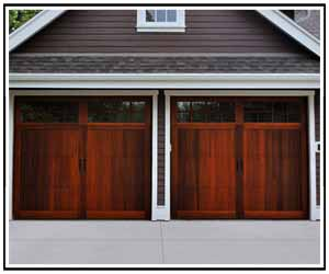 Cedar Garage Doors From The DFW Top Garage Door Manufacturers