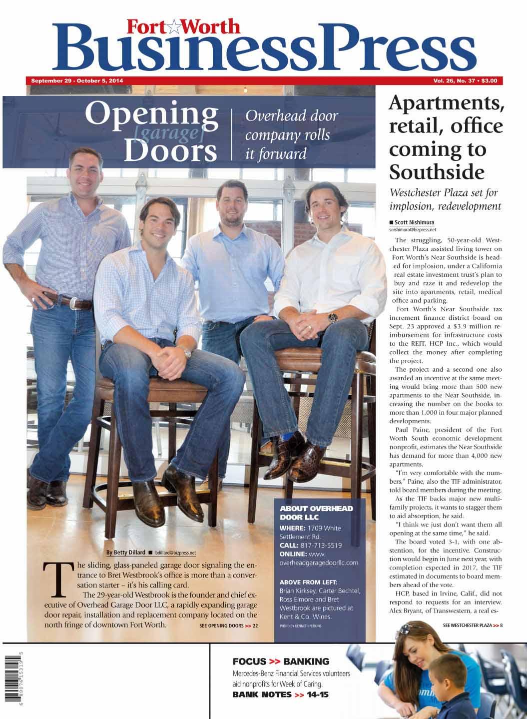 Etonnant Dallas Garage Door Repair In The Press