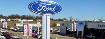 Cleburne Ford garage doors