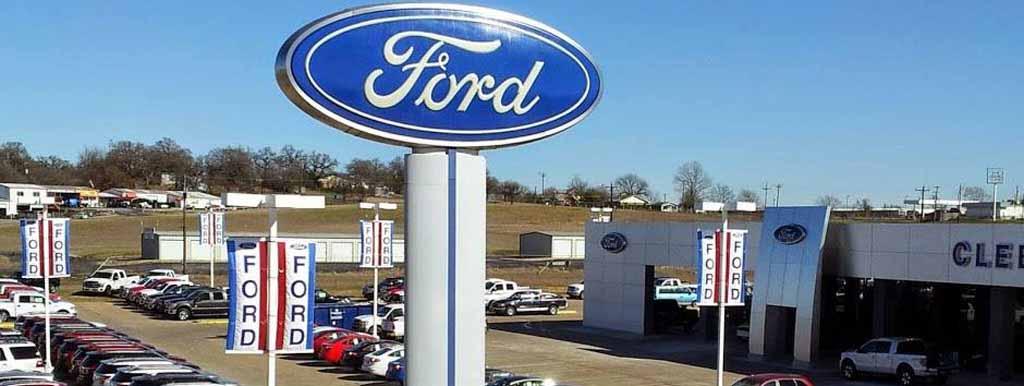 Cleburne Ford garage doors