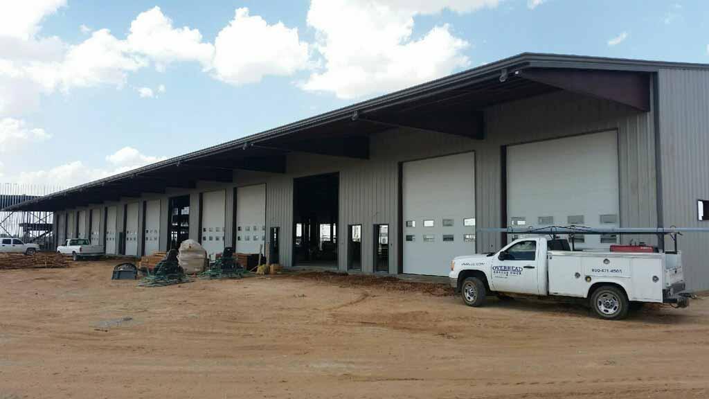 large-commercial-overhead-garage-door-installation