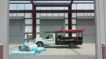 commercial garage door installations in dallas