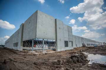 frontier logistics - fort worth tx - in construction - alston construction