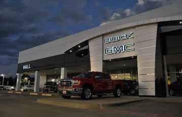 hall gmc commercial garage door installation