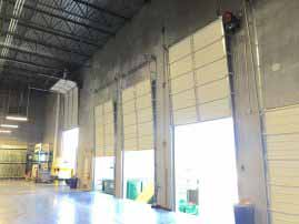 Warehouse Overhead Door Installation