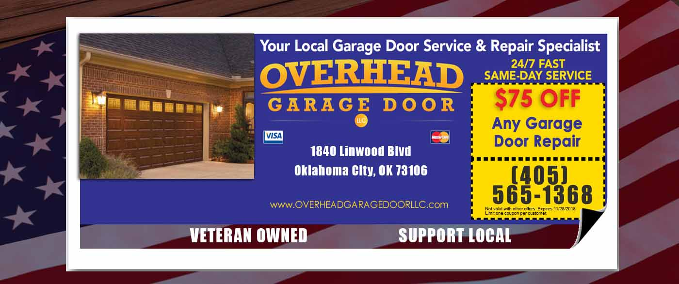 Garage Door Repair OKC Specials